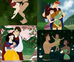 disney, princess, and family image