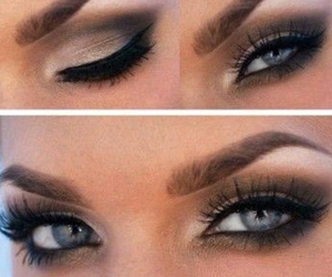 eyebrows and eyes image