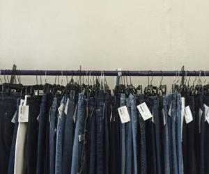 clothes, denim, and indie image