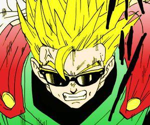 manga, dbz, and saiyan image