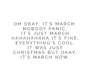 march, quote, and christmas image