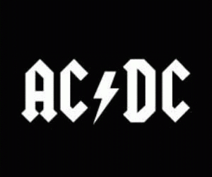 rock, ACDC, and music image