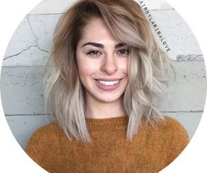 short blonde hair image