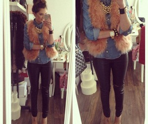 outfit, style, and fur image