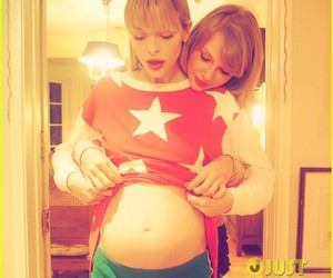 Jaime King, pregnant, and cute image