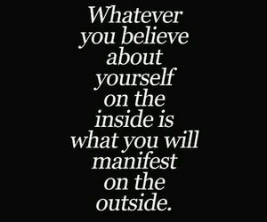 affirmation, believe, and qoute image