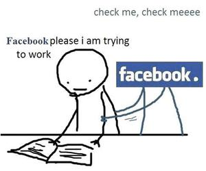 facebook, funny, and true image