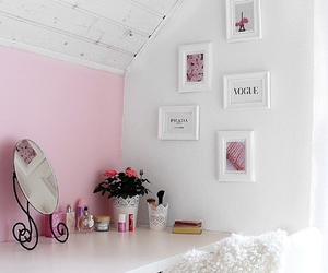 beauty, dressing table, and hair image