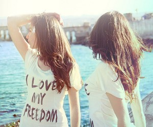 girl, photography, and freedom image