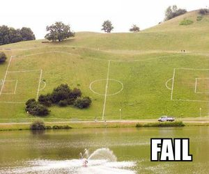 fail, field, and funny image