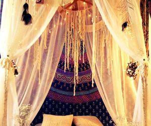 bed, tent, and maisonboheme.blogspot.com image