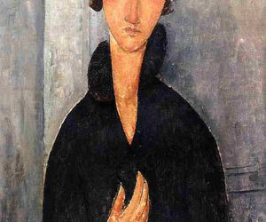 painting and amedeo modigliani image