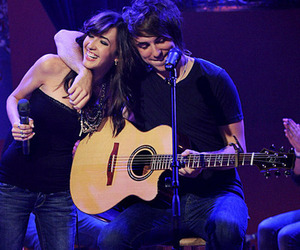 alex gaskarth, all time low, and kate voegele image