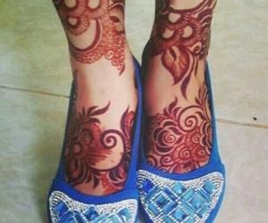 arabic, mehndi, and mehndi designs image