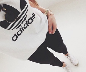 adidas, outfit, and style image
