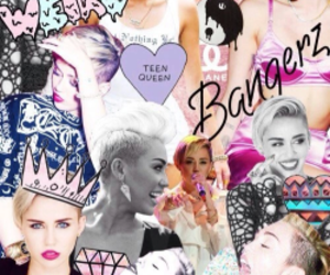 miley cyrus, bangerz, and miley image