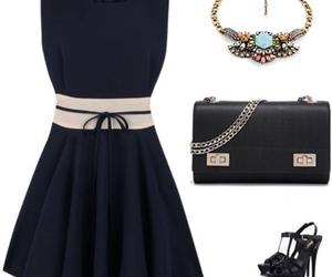 dress, fashion, and london image