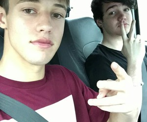 cameron dallas, boy, and aaron carpenter image