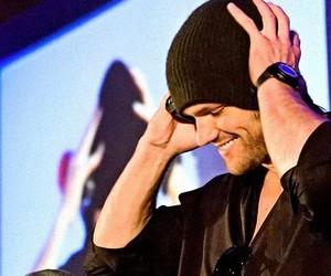 dean, jared padalecki, and Jensen Ackles image