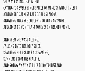 dying, poem, and words image