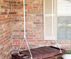 diy, swing, and home image