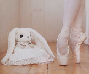 ballet, beautiful, and bunny image