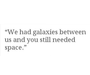 deep, galaxy, and poem image