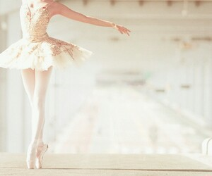 ballet, dance, and tutu image
