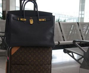 bags, Louis Vuitton, and travel image