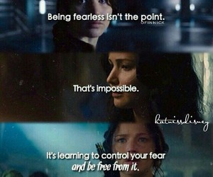 fearless, Jennifer Lawrence, and the hunger games image