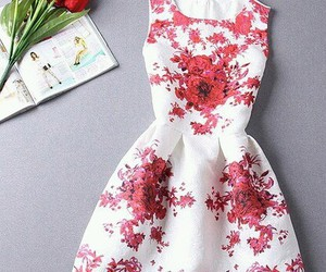 dress and rose image