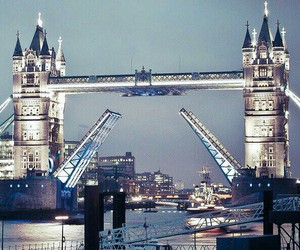 bridge, london, and city image