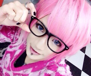japanese boy, pink, and cute image