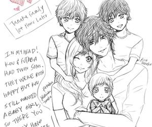 manga, love, and children image