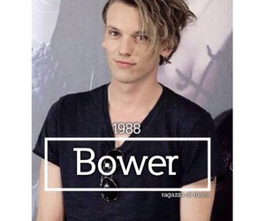 Burberry, Jamie Campbell Bower, and london image