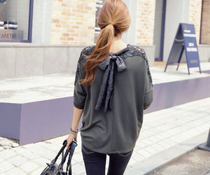 bags, blouses, and hair image