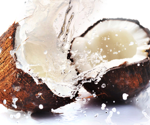 coconut, water, and fruit image
