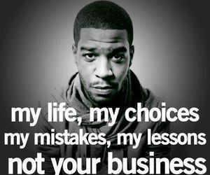 life, quote, and kid cudi image