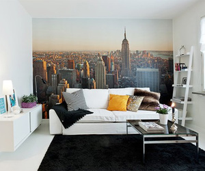 room, white, and new york image
