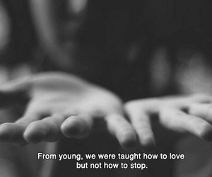 young and love image