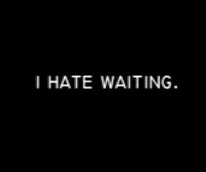 alone, hate, and waiting image