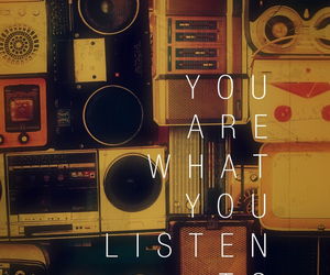 music, listen, and quotes image