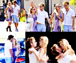 dianna agron, alex pettyfer, and love image