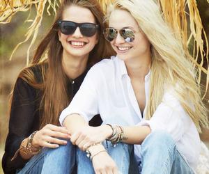 bracelets, fashion, and hair image
