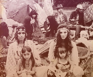 hippies, vintage, and hippie image