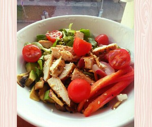exercise, fitness, and food image