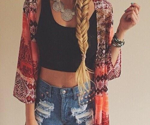 boho, clothes, and style image