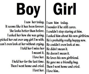 boy, girl, and love image