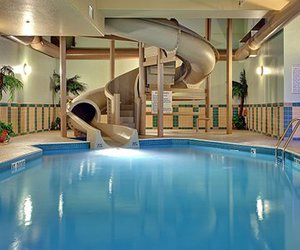 cool, indoor, and pool image