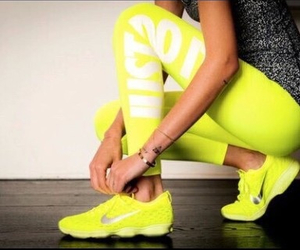 yellow, fit, and fitness image